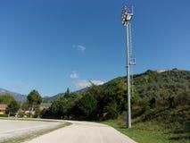 Campo de deporte, Italia del sur Imagen de archivo libre de regalías