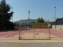 Campo de deporte, Italia del sur Fotos de archivo libres de regalías
