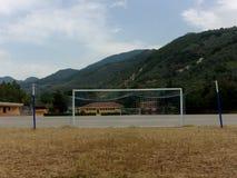 Campo de deporte, Italia del sur Fotografía de archivo