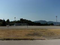 Campo de deporte, Italia del sur Fotos de archivo