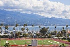 Campo de deportes de Santa Barbara Imagenes de archivo