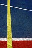 Campo de deportes sintético 42 imagen de archivo