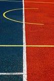 Campo de deportes sintético 43 fotografía de archivo libre de regalías