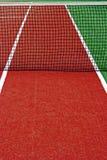 Campo de deportes sintético para el tenis 14 fotografía de archivo libre de regalías