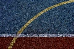 Campo de deportes sintetizado 18 imagen de archivo