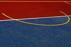 Campo de deportes sintetizado 19 imagen de archivo
