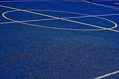 Campo de deportes sintetizado 25 imagen de archivo