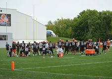 Campo de entrenamiento de Cleveland Browns NFL 2016 Foto de archivo