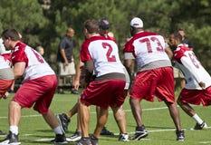 Campo de entrenamiento de los cardenales del NFL Arizona Foto de archivo