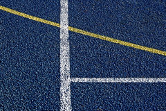 Campo de esportes sintético 23 Fotografia de Stock