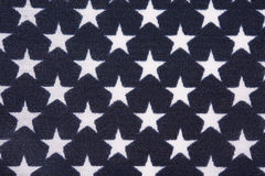 Campo de estrela na bandeira americana fotografia de stock royalty free