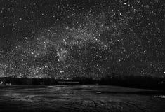 Campo de estrella fotografía de archivo