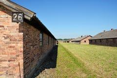 Campo de exterminación de Auschwitz Imagenes de archivo