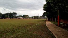 Campo de fútbol Fotografia Stock
