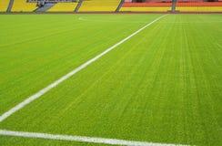 Campo de fútbol Imágenes de archivo libres de regalías