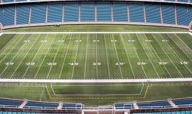 Campo de fútbol imagen de archivo libre de regalías