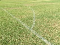 Campo de fútbol Foto de archivo