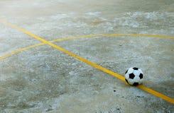 Campo de fútbol abandonado Foto de archivo libre de regalías