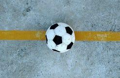 Campo de fútbol abandonado 3 Fotos de archivo libres de regalías