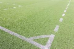 Campo de fútbol artificial Ilustración del Vector
