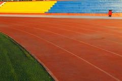 Campo de fútbol artificial Imagen de archivo