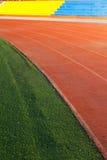 Campo de fútbol artificial Fotos de archivo libres de regalías