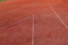 Campo de fútbol artificial Foto de archivo libre de regalías