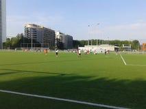 Campo de fútbol de la cerámica de Delft del TU Fotografía de archivo
