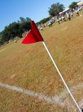 Campo de fútbol de la comunidad Fotos de archivo libres de regalías