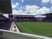 Campo de fútbol de la ciudad de Orlando Fotografía de archivo