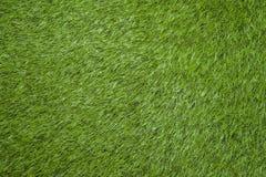 campo de fútbol verde de la visión superior Fotografía de archivo