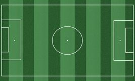 Campo de f?tbol stock de ilustración