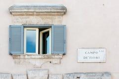 Campo DE Fiori Stock Foto's