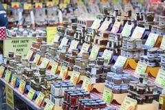 Campo de Fiori markt in Rome Royalty-vrije Stock Fotografie