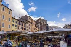 Campo de Fiori in Rome Stock Photo