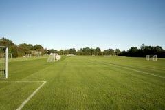 Campo de Footbal Fotografía de archivo