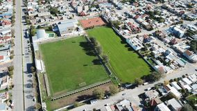 Campo de Futbol/ Football Field! stock images