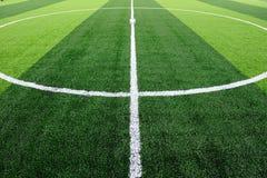 Campo de futebol Foto de Stock Royalty Free