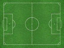 Campo de futebol Fotos de Stock