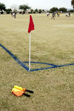 Campo de futebol Fotografia de Stock