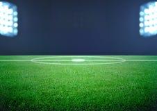 Campo de futebol Imagens de Stock Royalty Free