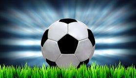 Campo de futebol Fotos de Stock Royalty Free