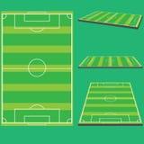 Campo de futebol Ilustração do Vetor
