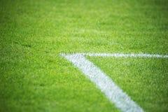 Campo de futebol Foto de Stock