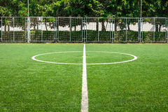 Campo de futebol Center Fotos de Stock Royalty Free