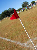 Campo de futebol da comunidade fotos de stock royalty free