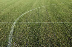 Campo de futebol do futebol Imagens de Stock Royalty Free
