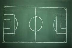 Campo de futebol - futebol foto de stock royalty free
