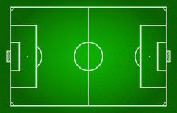 Campo de futebol, futebol, futebol, esporte Fotos de Stock Royalty Free