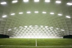 Campo de futebol interno Imagens de Stock